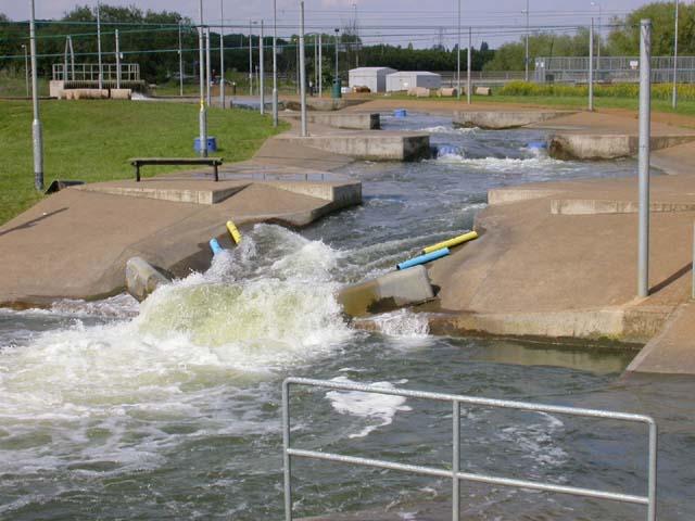 White Water Rafting Installation