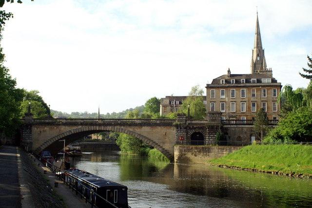 North Parade Bridge , River Avon, Bath