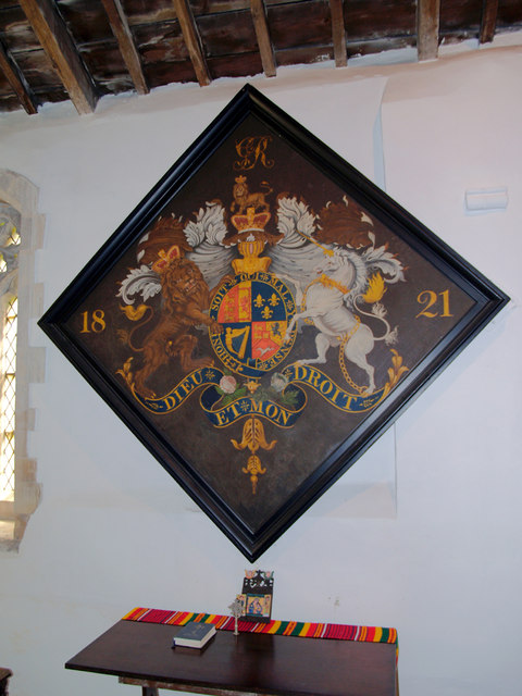 Horkstow Church - Royal Coat of Arms