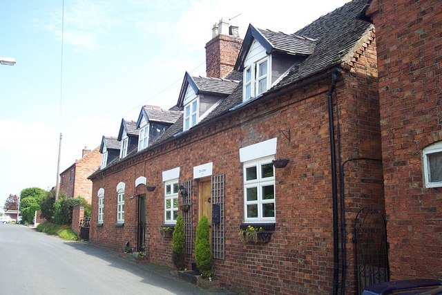 Cottages in School House Lane