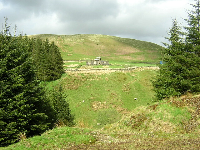 Cogshead Viewed from Southern Upland Way