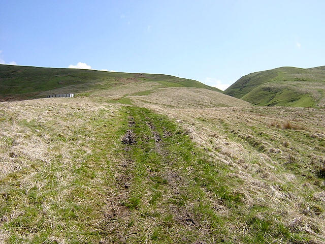 Southern Upland Way Near Cogshead