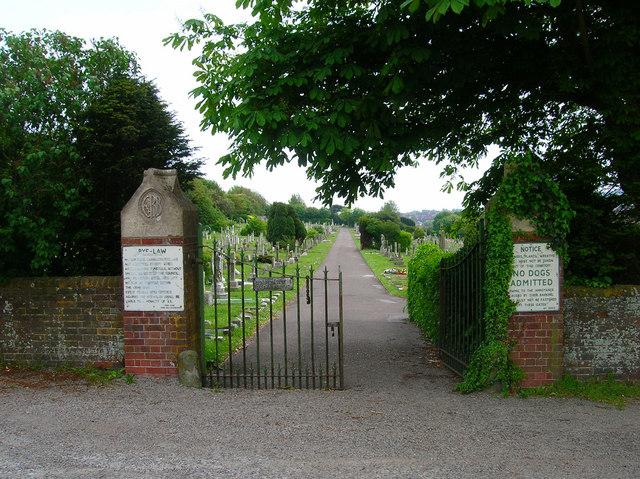 Cemetery Gates, Eastbourne