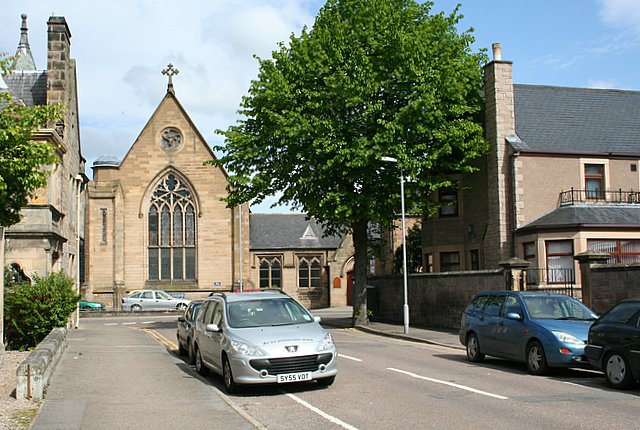 St Sylvester's Church, Institution Road, Elgin, Morayshire