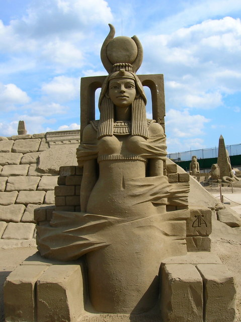 Sand Sculpture, Black Rock