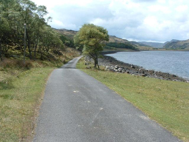 South side of Loch Spelve