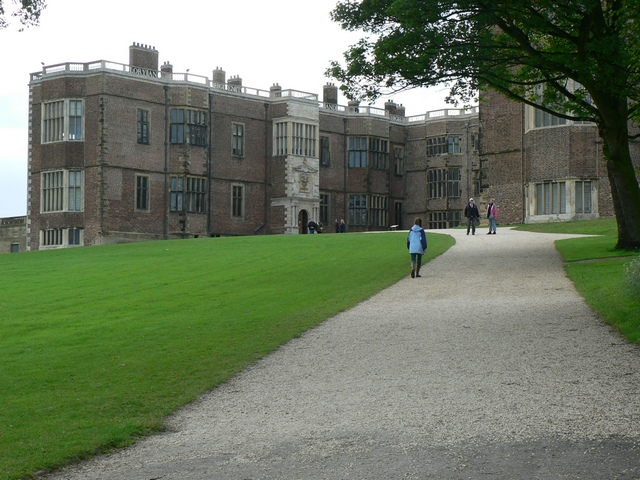 The East Front, Temple Newsam House