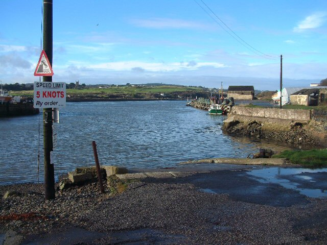 Hayle Harbour slipway