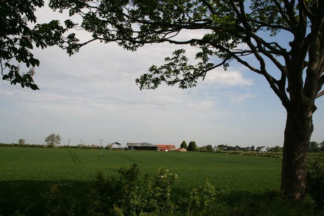 View to Home Farm