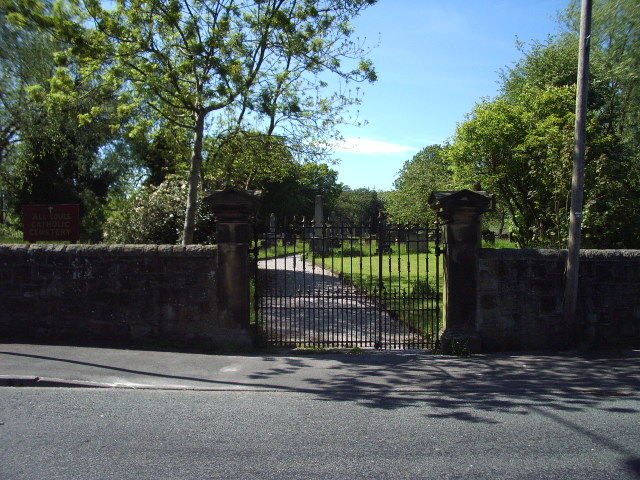 Entrance to All Souls RC Cemetery