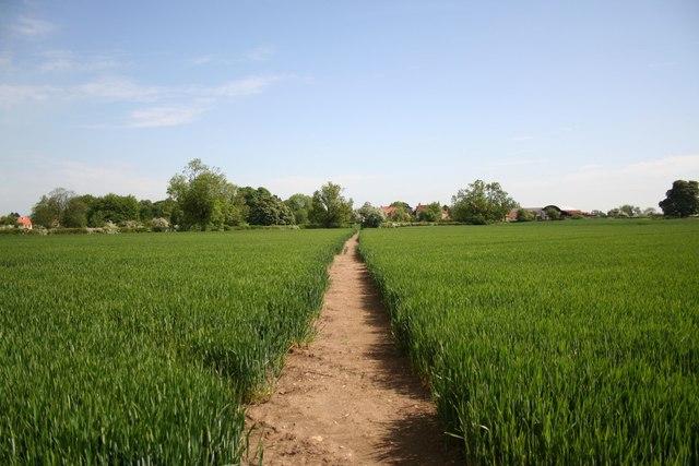 Path to Spridlington