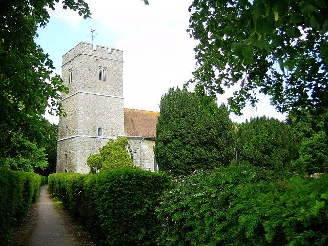 All Saints' Church, Hollingbourne