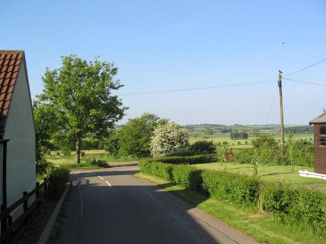 Bottom of Hollow Lane, Burton Lazars