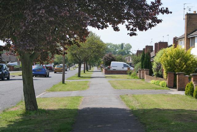 Dorset Avenue, Saffron Hill, near Wigston, Leicester