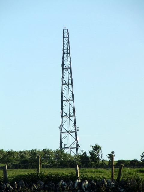 Mast  at Penmynydd