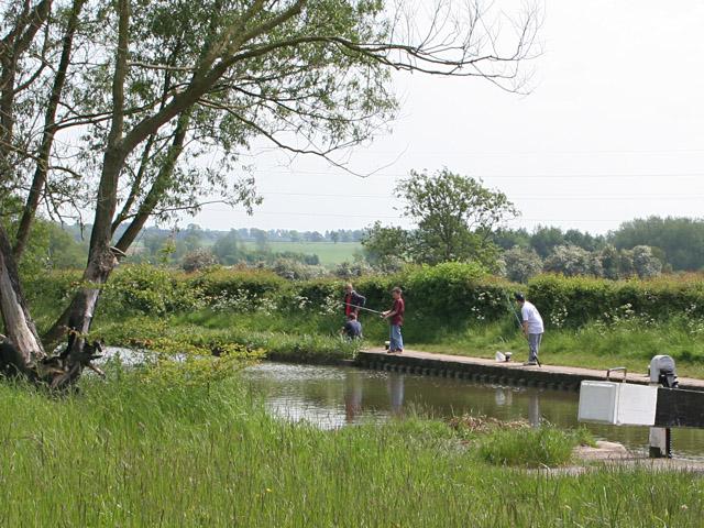 Half Term fishing at Ervin's Lock