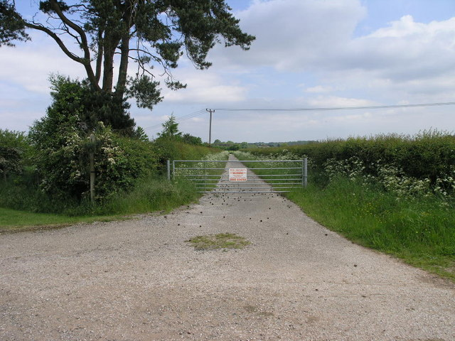Bridleway to Morton Grange