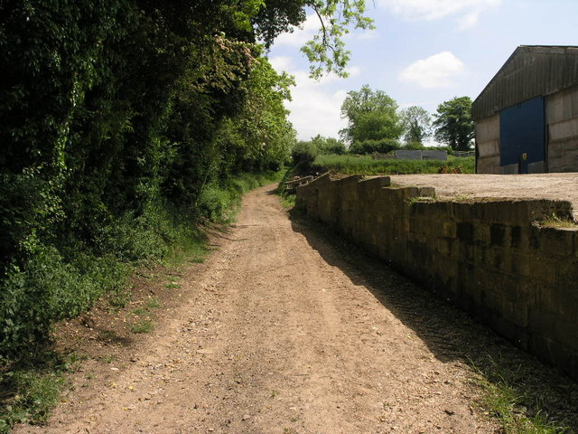 Bridleway up the Hill