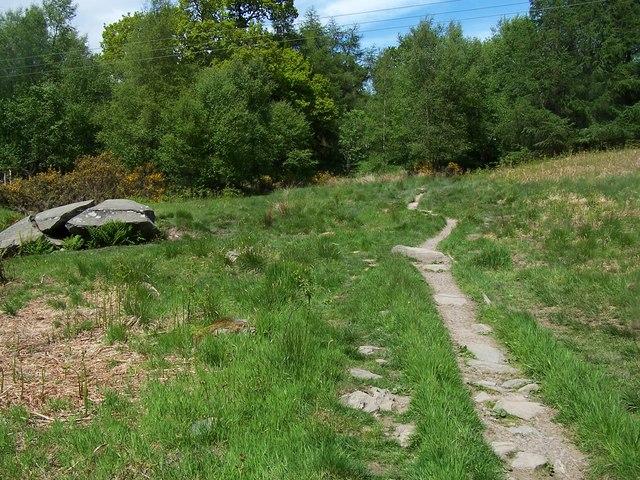 Rhu - Helensburgh, Hill House Track