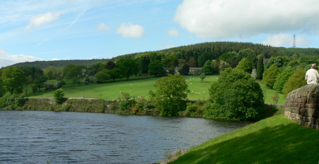 Lindley Wood Reservoir and Norwood House