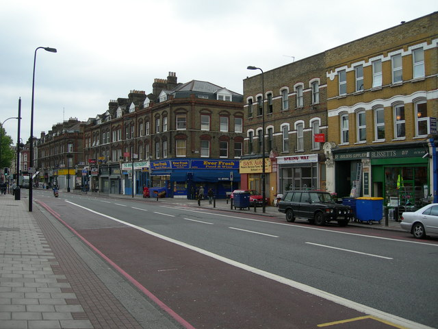 Brixton Road near Offley Road