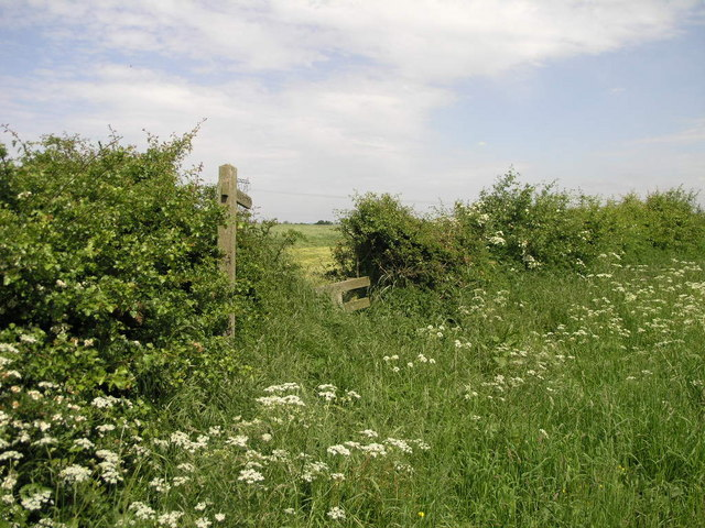 Footpath to Barnby