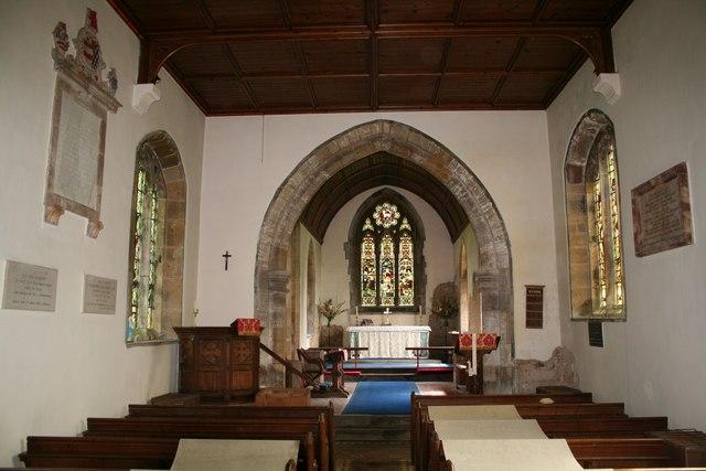St.Faith's nave