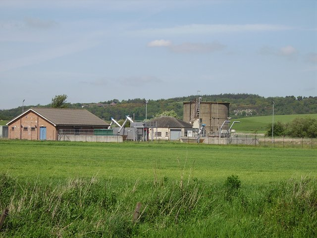 Sewage works, Nethermuir