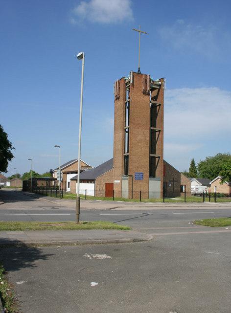 St Hugh's Church, Eyres Monsell, near Leicester.