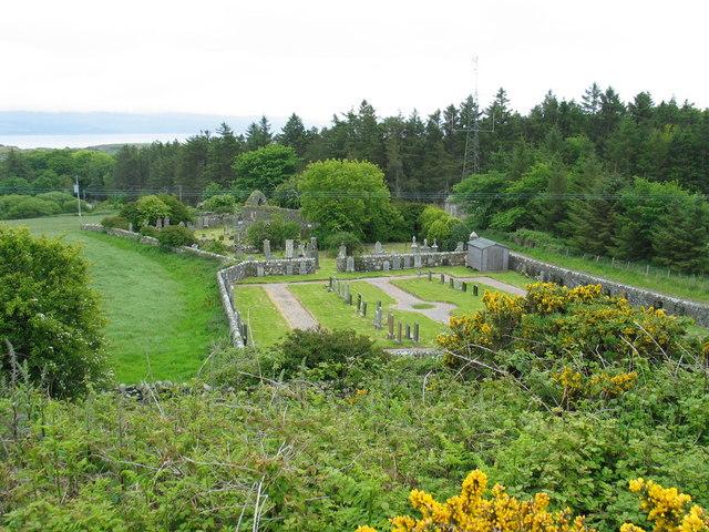 Isle of Gigha cemetery