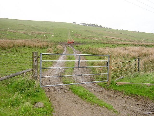 Track Up Fagyad Hill Near Abington