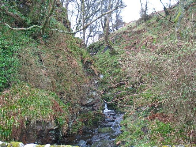 Rocky Burn, Glenramskill by Campbeltown.