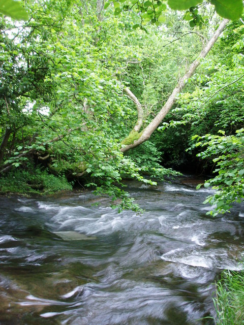 River Monnow below Old Mill Farm