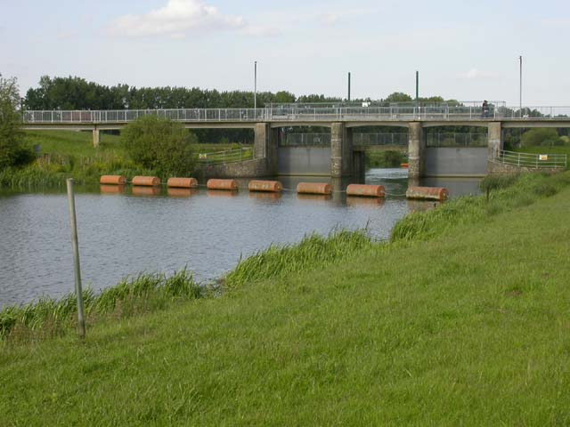 Footbridge over the Nene River