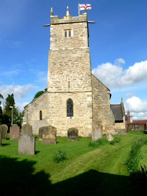 Tower of All Saints Parish Church, Shiptonthorpe