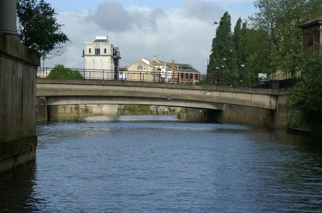 Southgate Bridge, River Avon, Bath