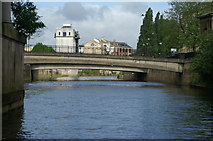 ST7564 : Southgate Bridge, River Avon, Bath by Pierre Terre