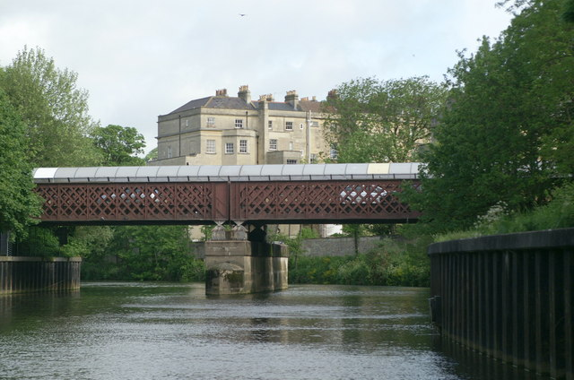 Sainsbury's Bridge, River Avon, Bath