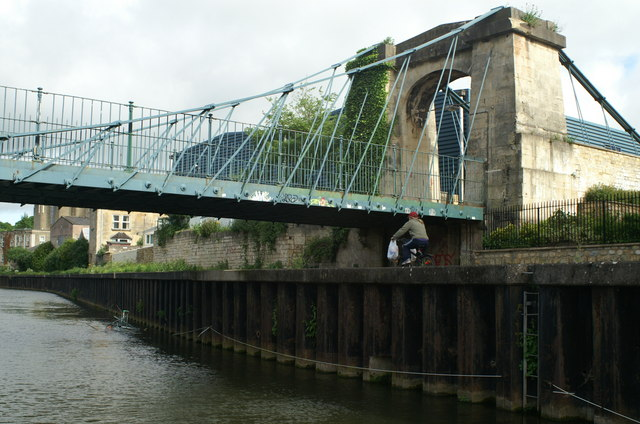 Victoria Suspension Bridge, River Avon, Bath