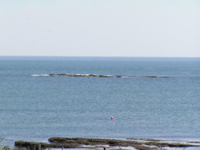 Rocks offshore