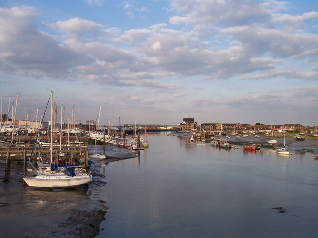 River Adur from Shoreham Footbridge
