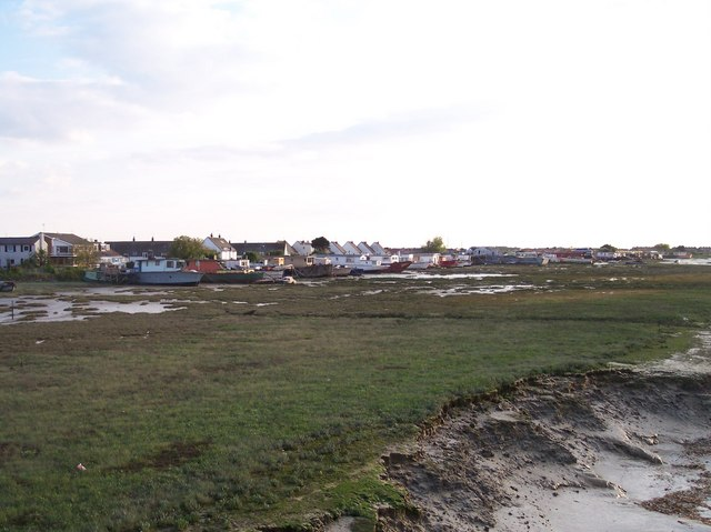 Mudflats and House Boats, Shoreham Beach