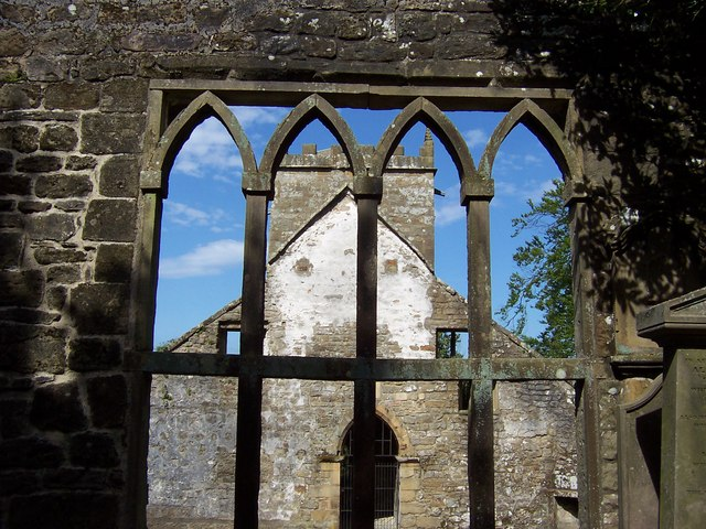 Ruins of St. Mary's Church, Pateley Bridge