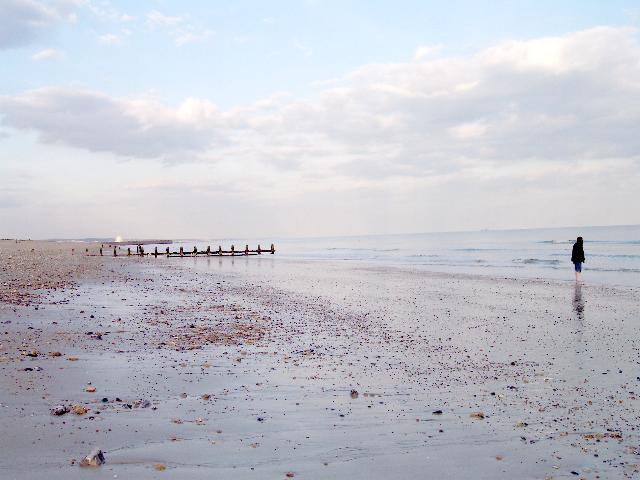 Exposed Intertidal Sand, Shoreham Beach