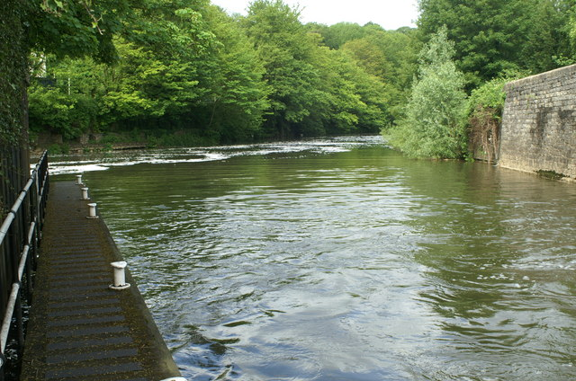 Below Weston Lock, River Avon
