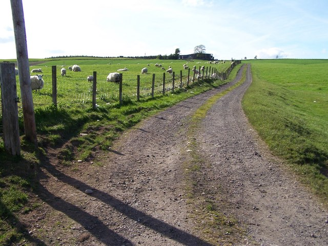Track to Faulds Farm
