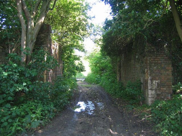 Remains of Stratford and Moreton Tramway Bridge