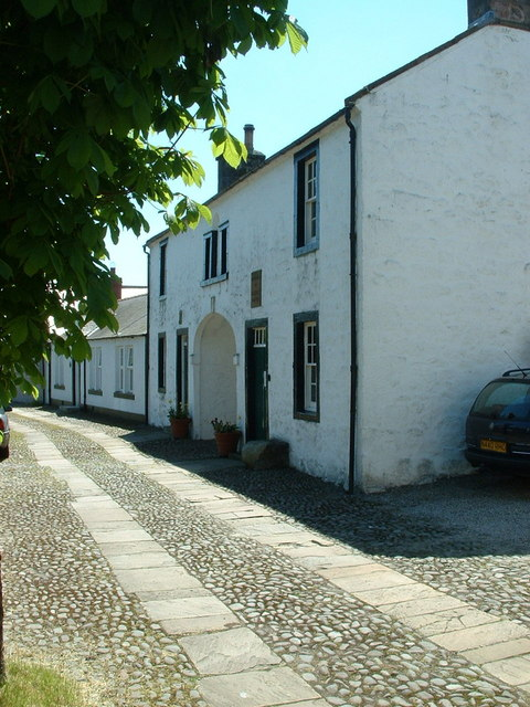 Thomas Carlyle's Birthplace. The Arched House, Ecclefechan