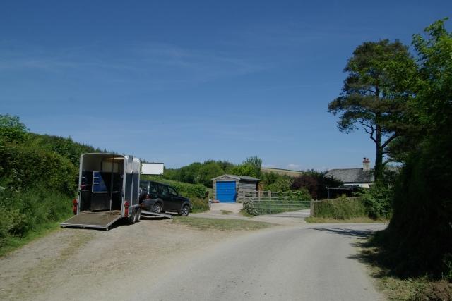 Missing horse, near Smeaton Farm
