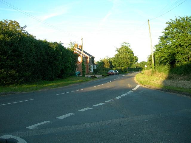 B3084 at Awbridge